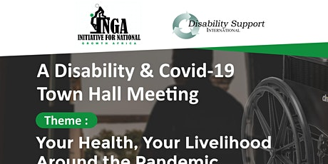 A Disability and Covid-19 Town Hall Meeting tickets