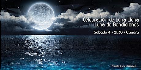 Círculo de Luna Llena - Luna de las Bendiciones entradas