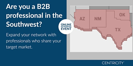 VIRTUAL B2B Professionals Business Roundtable Networking  | Southwest, USA tickets