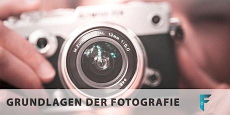 Grundlagen der Fotografie Tickets