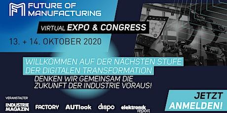 FUTURE OF MANUFACTURING - virtual Expo & Congress entradas