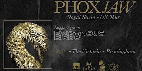 Phoxjaw tickets