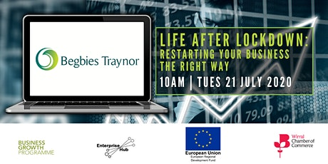 Life After Lockdown: restarting your business the right way tickets