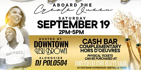 ALL WHITE DAY PARTY ABOARD THE CREOLE QUEEN tickets