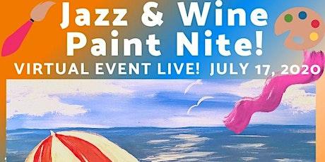 Jazz & Wine Paint & Sip EVENT! tickets