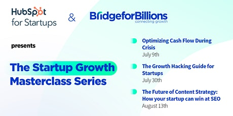 The Startup Growth Masterclass Series tickets