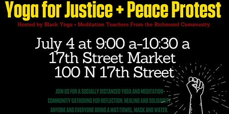Yoga For Justice + Peace Protest tickets