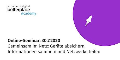 Online-Seminar: Gemeinsam im Netz Tickets