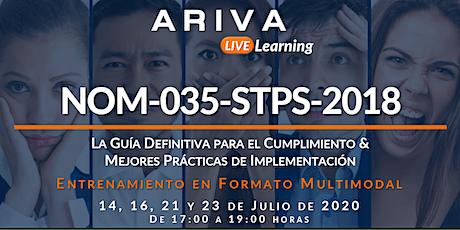 """NOM-035 """"La Guía Definitiva para el Cumplimiento & Mejores Prácticas"""" boletos"""