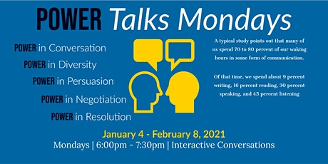 Power Talks Mondays tickets