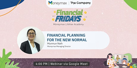 Financial Planning for the New Normal tickets