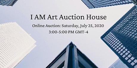 I AM Art Auction House | Contemporary Art Auction tickets