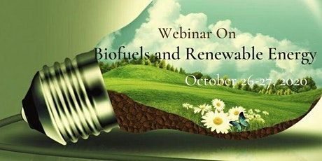 Webinar on Biofuels and Renewable energy tickets
