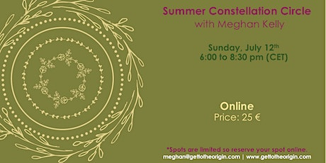 Summer Constellation Circle with Meghan Kelly tickets