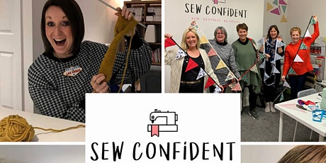 Beginners sewing class held at Sew Confident Birmingham ** ONLY 2 SPACES tickets