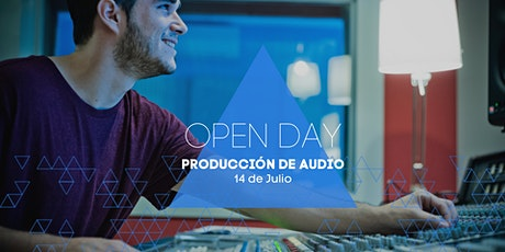 Open Day | Producción de Audio entradas
