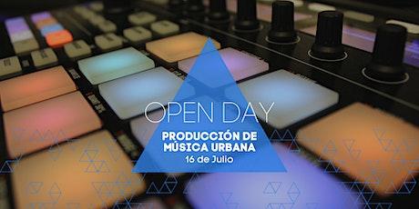Open Day | Música Urbana tickets