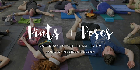 Pints + Poses July 11 tickets