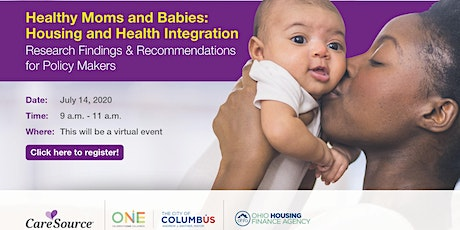 Healthy Moms and Babies: Housing and Health Integration tickets