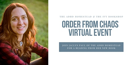 Order from Chaos Virtual Event with The Ivy Bookshop tickets