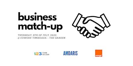 Business Match-up @ Cowork Timisoara tickets