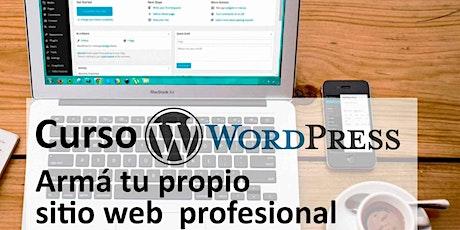 Curso de WordPress – Crea tu propio sitio web profesional entradas