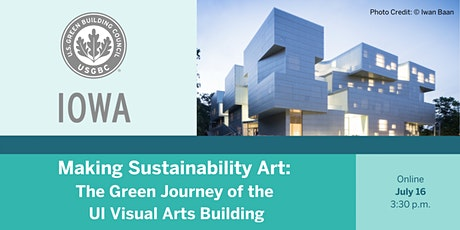 Making Sustainability Art: The Green Journey of the UI Visual Arts Building tickets