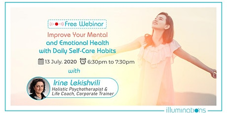 Free Webinar! Improve Your Mental And Emotional Health tickets