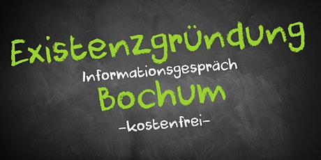 Existenzgründung Online kostenfrei - Infos - AVGS Bochum Tickets