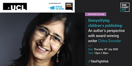 Demystifying children's publishing with Chitra Soundar tickets