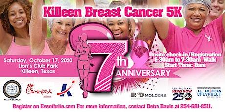 Killeen Breast Cancer 5K Walk tickets