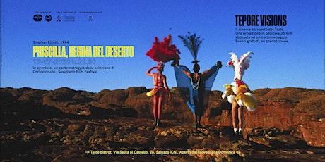 tepore visions:  Priscilla,la regina del deserto in pellicola biglietti