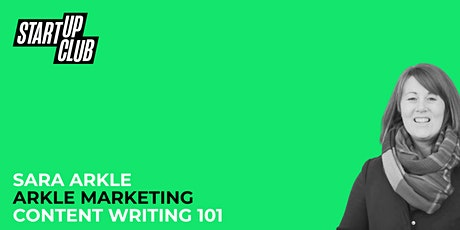 Content Writing 101: Sara Arkle tickets