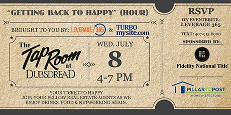 """Real Estate Agent Happy Hour - Getting Back to """"Happy Hour"""" tickets"""