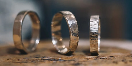 SPECIAL OFFER! Award Winning Workshop - Forge Your Own Silver Ring tickets