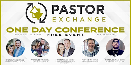 Pastor Exchange One Day tickets