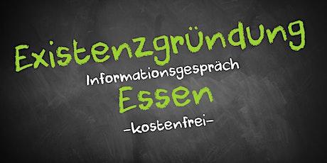 Existenzgründung Online kostenfrei - Infos - AVGS Essen Tickets