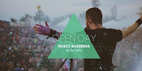 Open Day | Music Business entradas
