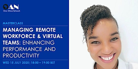 Managing  Remote Workforce and Virtual Teams Masterclass tickets