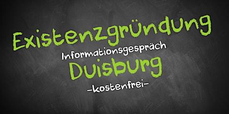 Existenzgründung Online kostenfrei - Infos - AVGS Duisburg Tickets