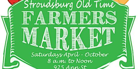 Stroudsburg Farmers Market tickets