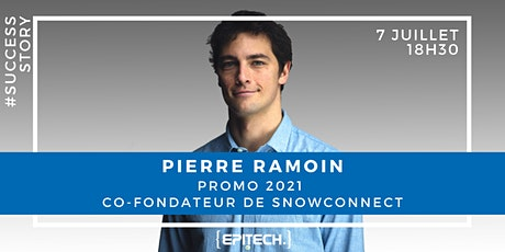 #SuccessStory Pierre Ramoin (SnowConnect) Tickets