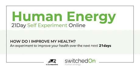 Human Energy 21day programme tickets