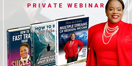 How to Write an eBook & Generate 6 Figures | Private Webinar tickets