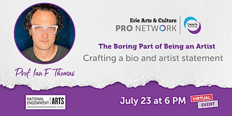 The Boring Parts of Being an Artist | Virtual Event | PRO Network tickets