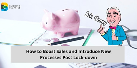 How to boost sales and introduce new processes post lock-down tickets
