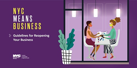 NYC Small Business Reopening Guidelines for Personal Care Industry tickets