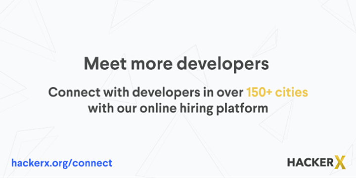 HackerX - Stockholm (Full Stack) Employer Ticket - January 25th image
