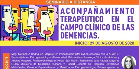 Acompañamiento Terapéutico en el Campo Clínico de las Demencias tickets