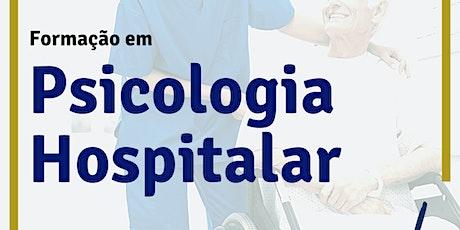 Formação Online em Psicologia Hospitalar bilhetes